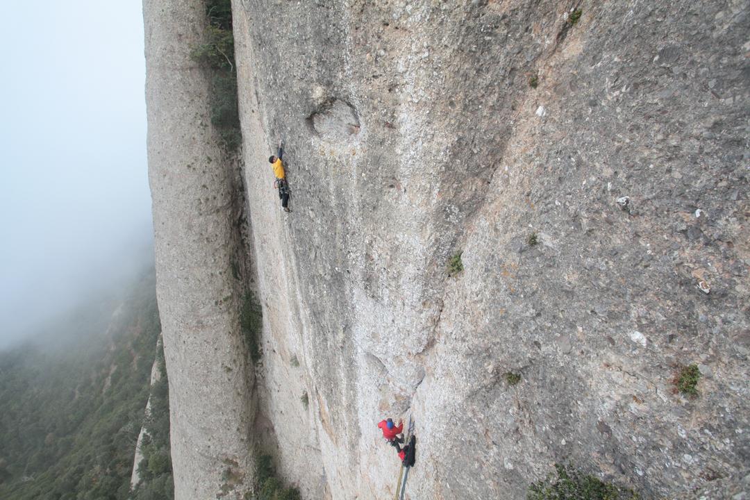 Montserrat, la Punxa, Bóreas (8a)