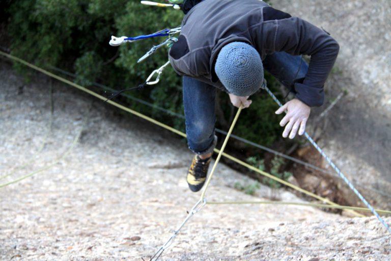 Nociones básicas de caidas en escalada