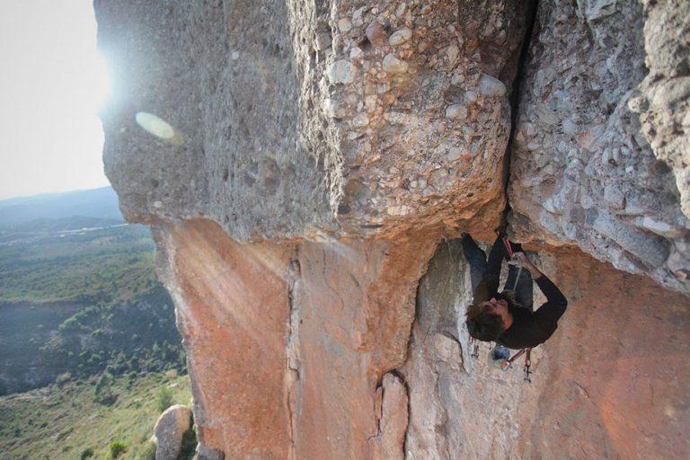 Montserrat, Fissures al Vermell del Xincarró