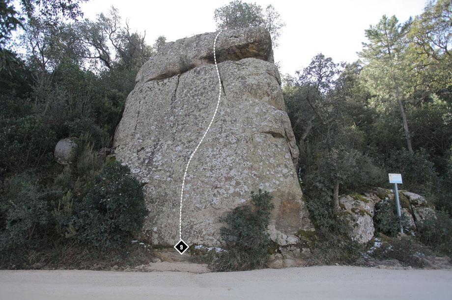 Escalada al Roc dels Deu Cèntims