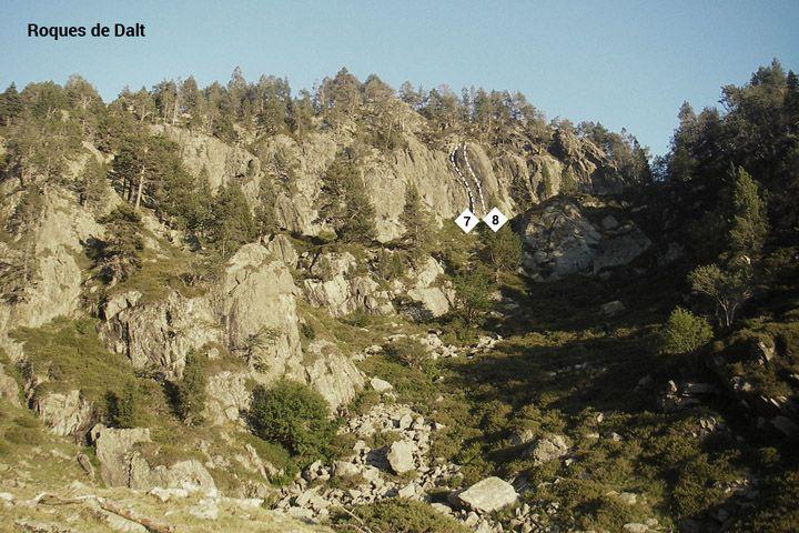 Escalada Pla de Boet Vallferrera